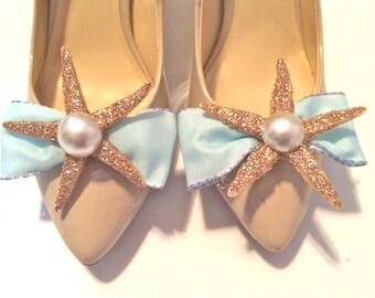 Mermaid Shoe Clips
