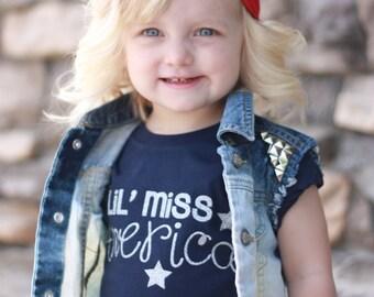 Lil Miss America Tee