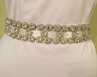 Wedding Crystal Belt,Bridal Sash,Bridal Belt,Wedding Sash