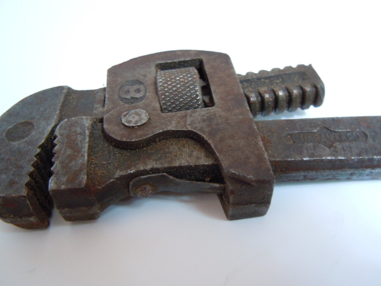 Antique Plumbers 8″ Pipe Wrench | Vintage Monkey Wrench 8 Inch ...