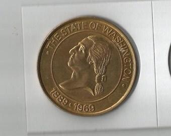 large token washington mutual savings bank   1889-1969