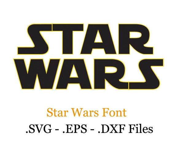 star wars vektoren schriftart eps svg dxf format dateien. Black Bedroom Furniture Sets. Home Design Ideas