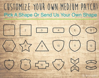 10+ MEDIUM Totally Customizable Patches