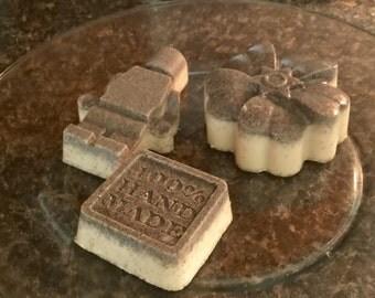 Organic goat milk exfoliating soap with johoba meal