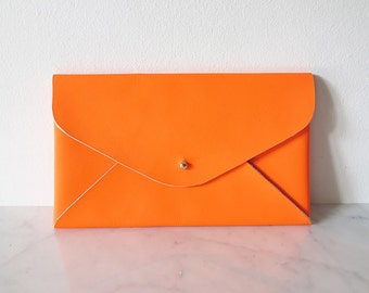 Clutch / Holditall, color: neon orange