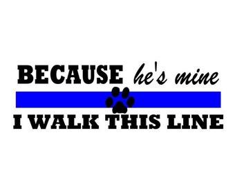 Walk the Line K9