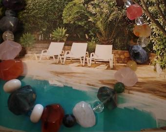 Stone pool, original photography: 20 x 30 cm