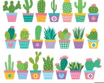 Clip Art Cactus Clipart cactus clip art etsy clipart