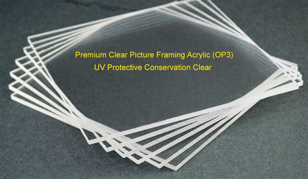 99 uv protective picture framing acrylic sheet conservation