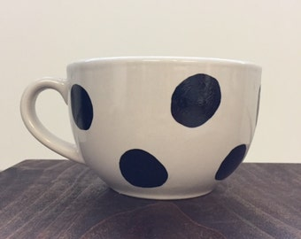 Large Polka Dot mug