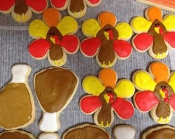 Thanksgiving Cookies- 1 dozen