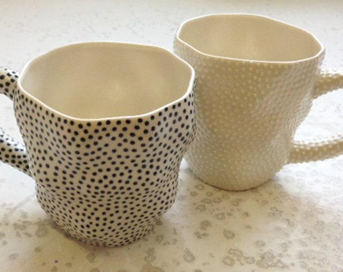 Dotted Tall Mugs