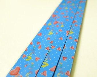 Origami Lucky Star Paper Strips Little Sweet Heart Star Folding - Pack of 40 Strips
