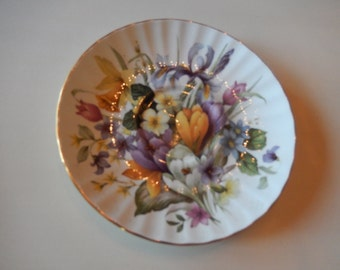 ENGLAND STAFFORDSHIRE ROYAL Cuthbertson Saucer
