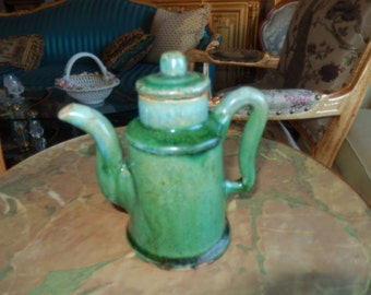 CHINA EMERALD GREEN Teapot