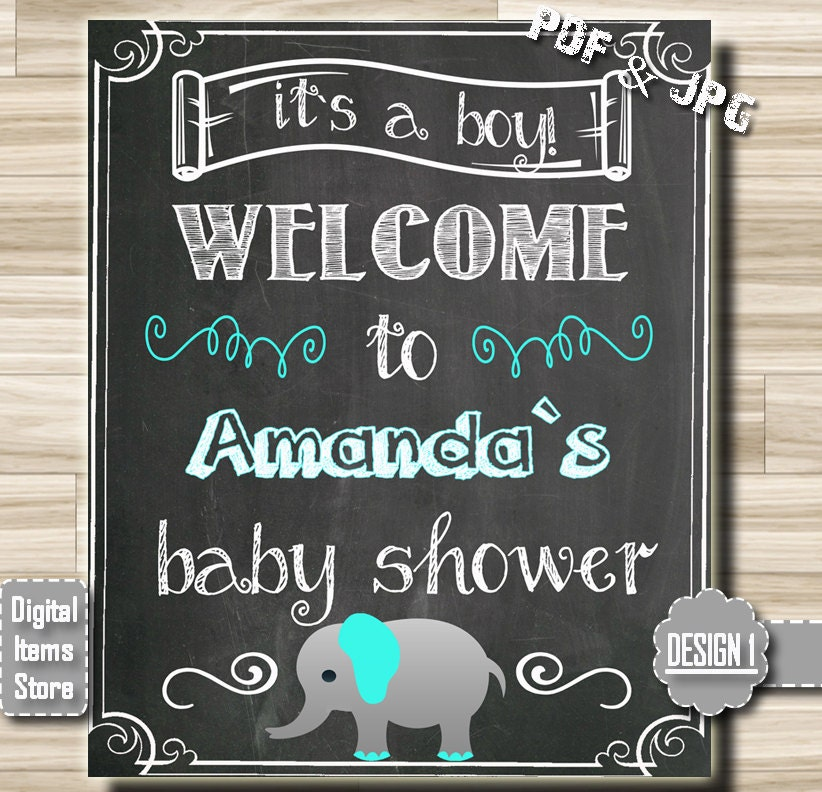 welcome sign baby shower welcome chalkboard sign welcome
