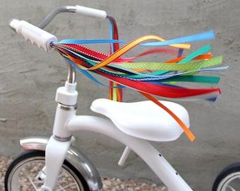 Streamers for your Bike, Trike, or Scooter Handlebars - Retro, Cool & Handmade - Box Kite