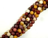 Mookaite Beads Round, 6mm, 15 Inch, Full strand, Approx 60 beads, Hole 1 mm, A quality (320054001)