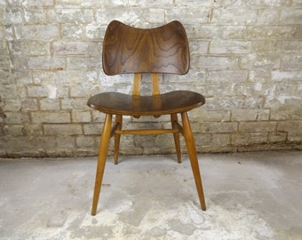 Rare Original Ercol Butterfly Chair - Mid Century - Retro Dining Chair - Bent Ply Elm and beech - late 1950s