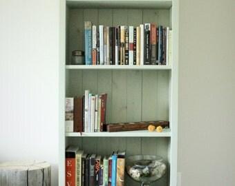 Bookshelf - Shabby Chic Bookcase - Beach Style - Handmade