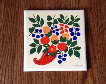 Berggren Art Tile/ Trivet No.31