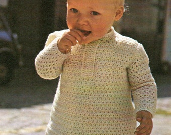 Vintage Crochet Tunic for tots