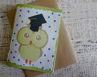 Graduating Owl Greeting Card