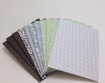 Set of 12 Small Gift Envelopes