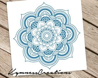 Mandala Decal Vinyl Sticker