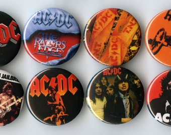 AC/DC Button Pack