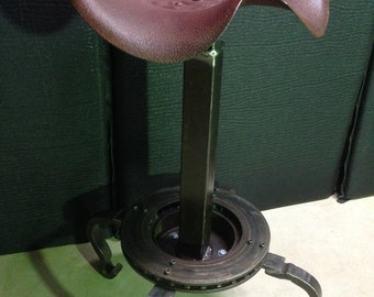Vintage stool for the garage or car enthusiast