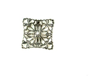 Square Filigree - 15mm