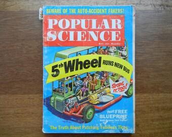 Popular Science Magazine May 1961
