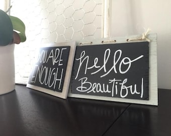 Small (5x7) Chalkboard signs