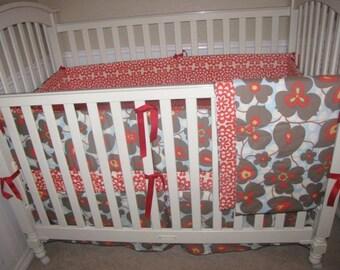Lotus Flower Baby Bedding Set