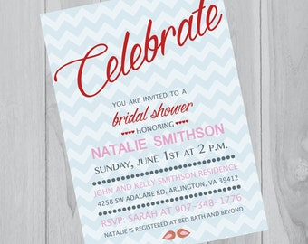 Bridal Shower Invitation <3