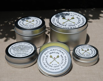 Multi-Use Miracle Balm, All Natural with Essential Oils
