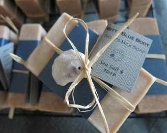 Sea Salt & Herb Goat's Milk Soap