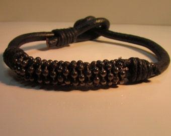Cord Bracelet Black
