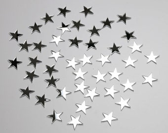 Mirror Stars to children room wall decoration