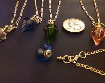 glass vial bracelet, essential oils