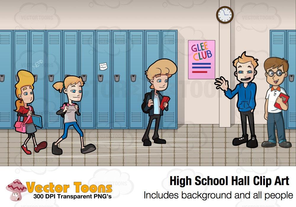 school hallway clip art - photo #40