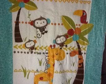 Animal Crib Quilt