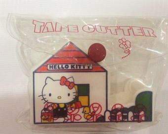 Vintage Hello Kitty tape cutter Sanrio made in Japan