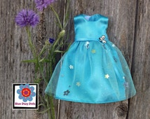 Pretty Party Dress, handmade doll clothes, repainted Bratz doll, 9 inch doll clothes