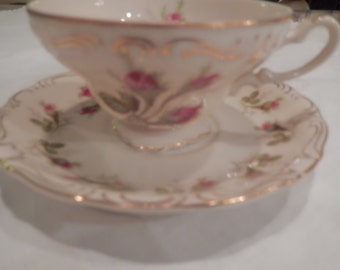 JAPAN NORCREST TEACUP and Saucer