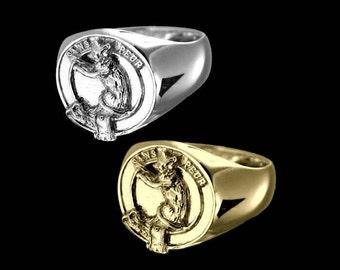 Clan Sutherland Crest Men's Signet Ring