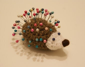 HANDMADE Hedgehog Pincushion