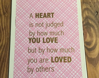 """Wizard of Oz Canvas- """"A heart is not judged by how much you love but by how much you are loved by others."""""""