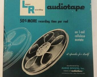 Longer Recording - Vintage Reel to Reel Audiotape